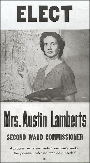 Lamberts Election Poster